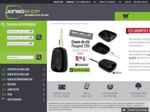 Coque de clé moins cher pour Peugeot