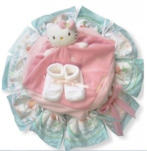 cadeau original, coffret de naissance vêtements bébé