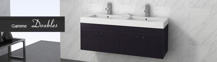 meubles de salles de bain tendance. Black Bedroom Furniture Sets. Home Design Ideas