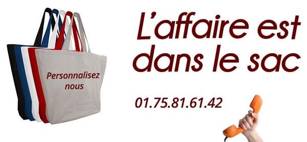 sac personnalisable diy ou boutique