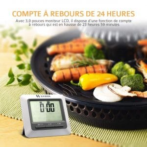 Thermomètre de cuisine avec écran : Choisir le meilleur