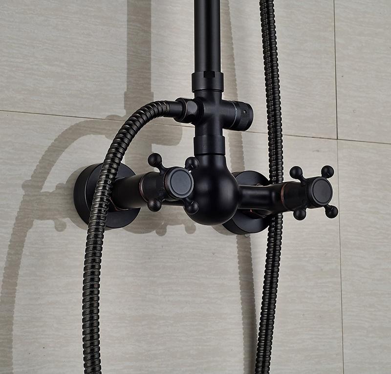Colonne de douche noire